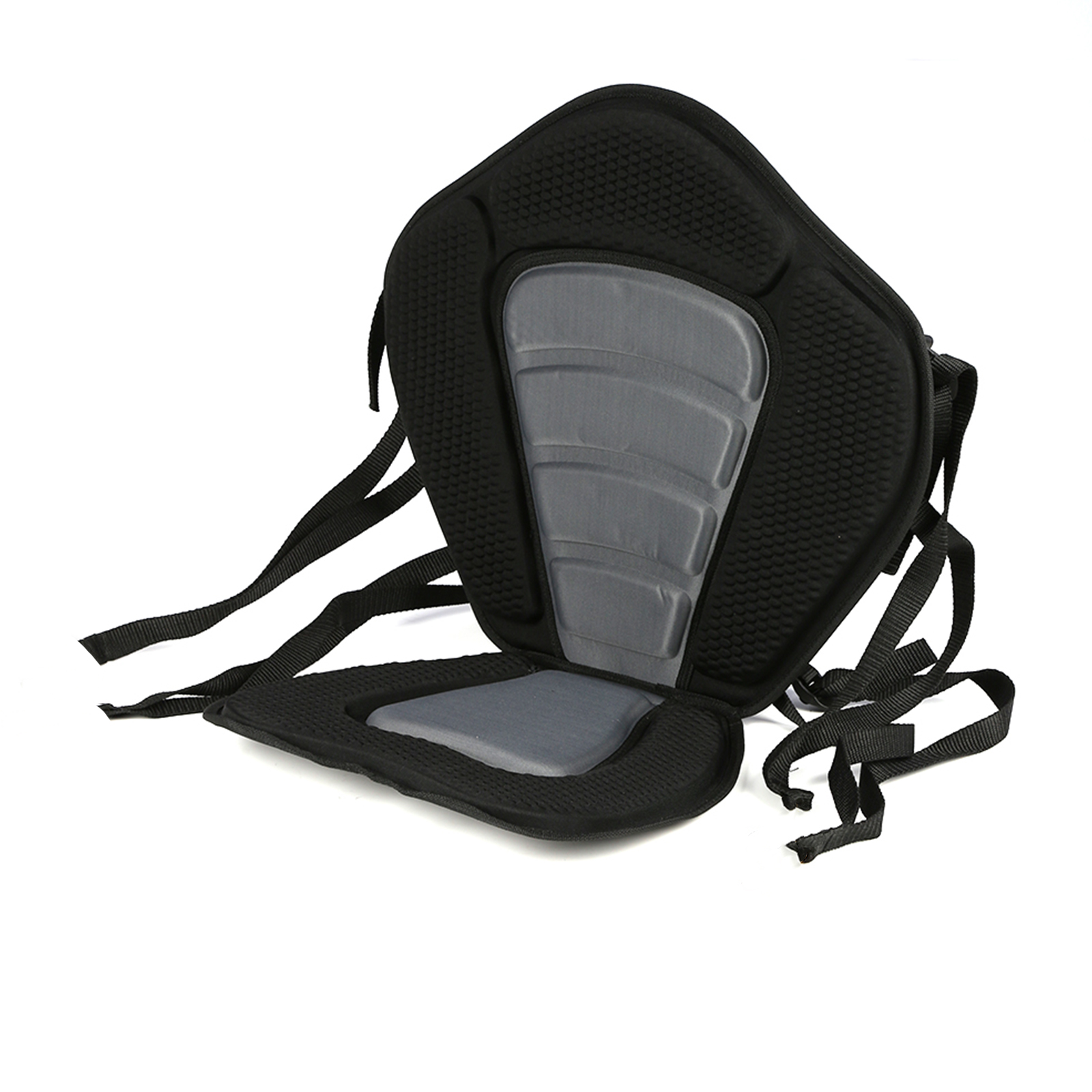 Adjustable Canoe Kayak Backrest Seat Storage Backpack Cushion Inflatable in Bag