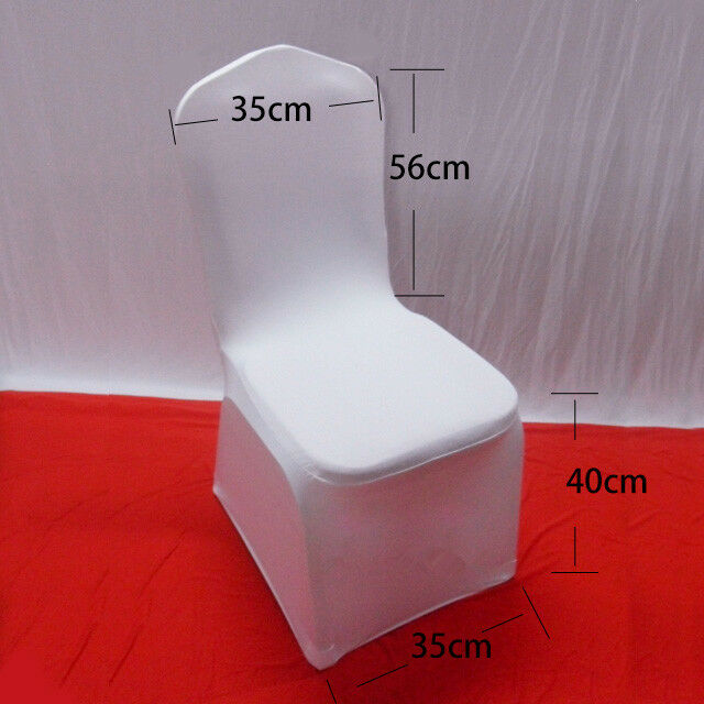 5X-Chair-Covers-Spandex-Lycra-Cover-Wedding-Banquet-Anniversary-Party-Decor-UK thumbnail 6